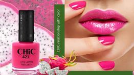 CHIC lanza una nueva paleta de esmaltes de uñas inspirada en frutas tropicales