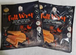 Ahora en Israel Full Wrap - Tortilla de lentejas naranjas germinadas