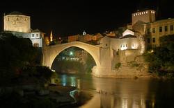 mostar night