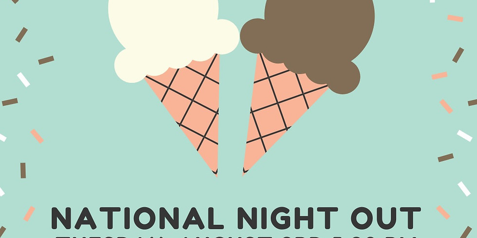 National Night Out - Ice cream Social