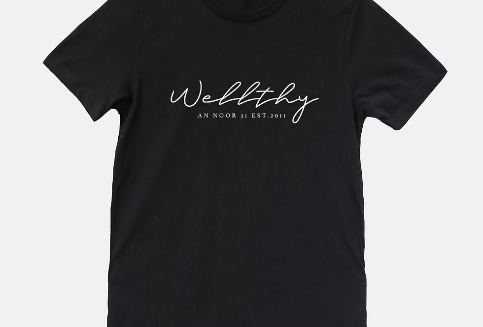 WELLthy T-shirt (Black)