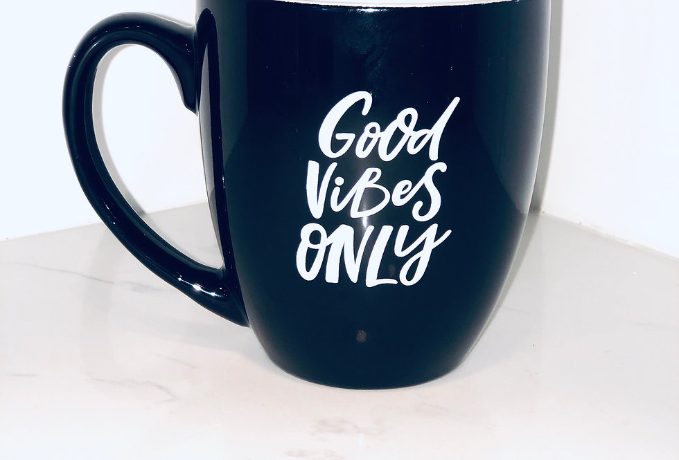 'Good Vibes Only' Mug