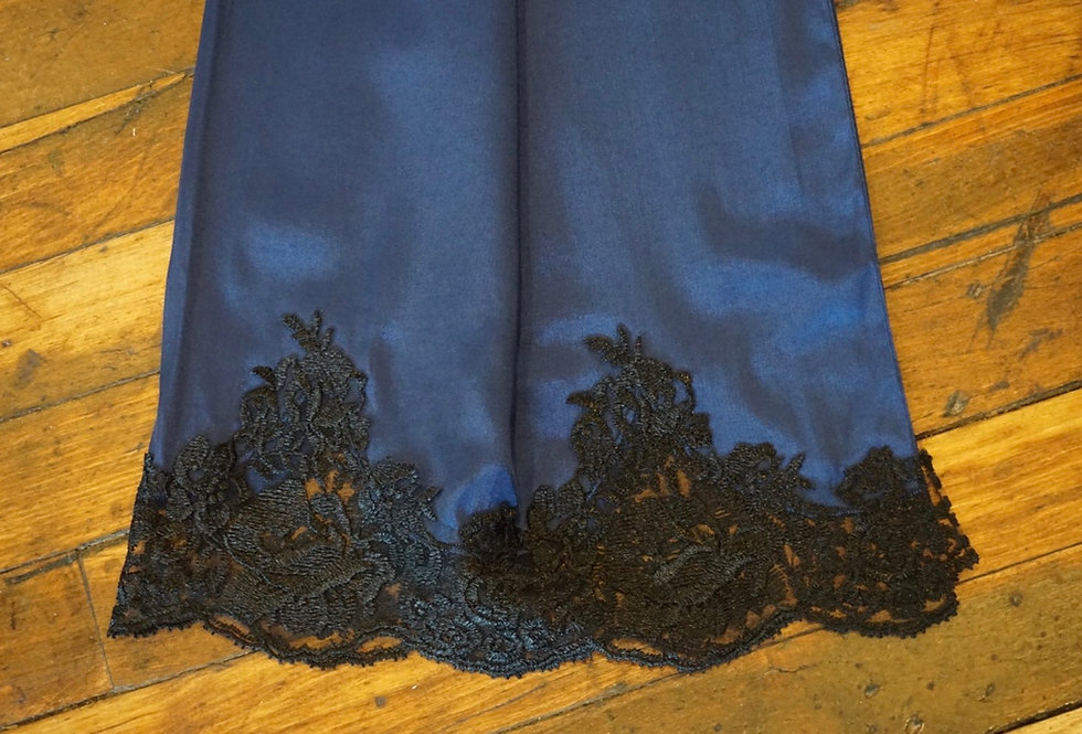 Blue Turkish Shayla (Black Lace)