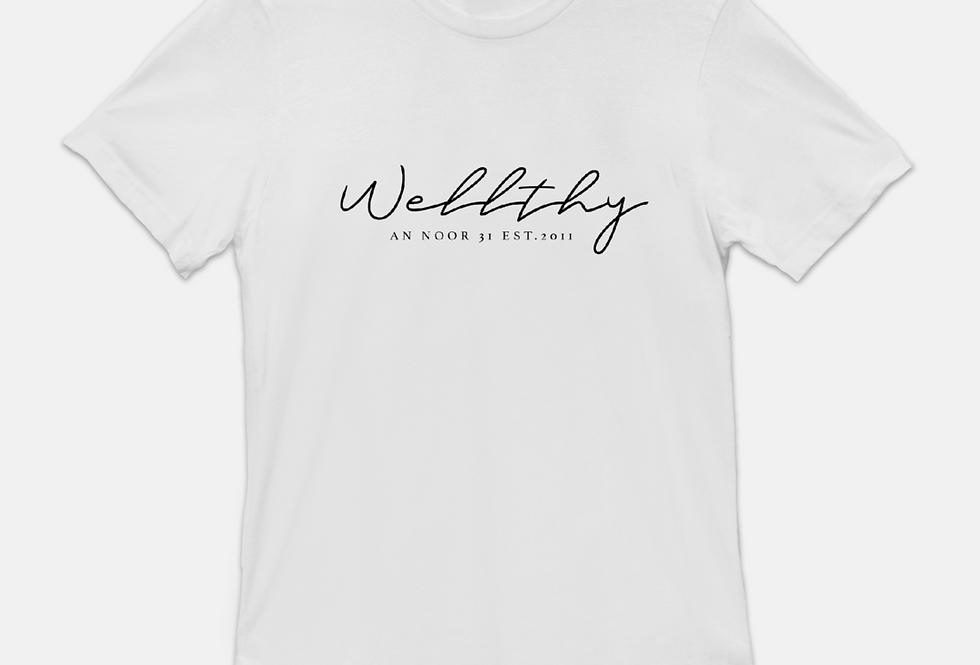 WELLthy T-shirt (White)