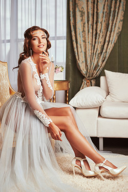 Будуарное платье Хлоя