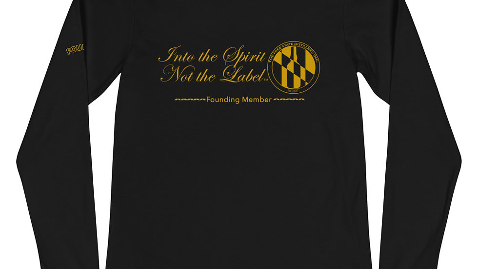 FOUNDERS INTO THE SPIRIT LIMITED EDITION - Unisex Long Sleeve Tee