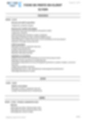 une fiche de poste générée par le logiciel Qerto Propreté. La fiche de poste décrit le travail à faire pour un devis par salarié et par jour