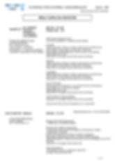 le planning prévisonnel hebdomadaire édité par le logiciel Qerto Propreté. Le planning hebdomadaire indique au salarié le travail qu'il a à faire sur une semaine