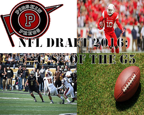 """2016 Draft: 5 """"G's"""" of the G5"""