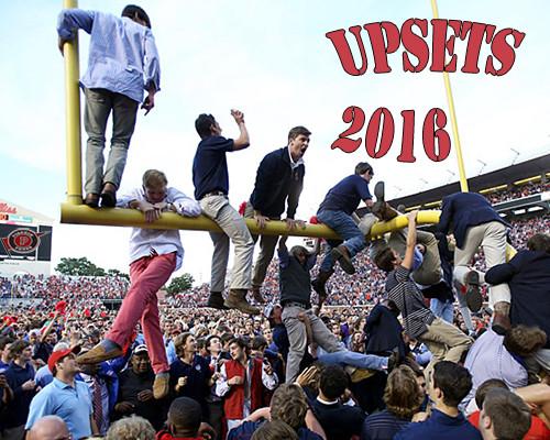 Upsets 2016