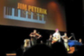 Pete paying with Jim Peterik & The Stormchasers at The Raue Center for the Arts in Crystal Lake, Illinois
