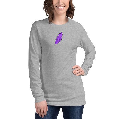 Ladies' Floral Bolt Long Sleeve