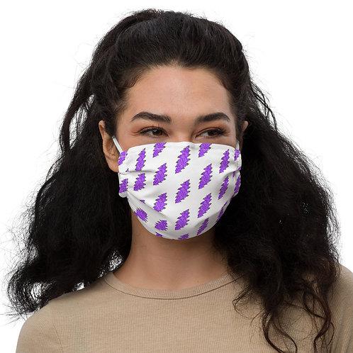Ladies' Floral Bolt Face Mask
