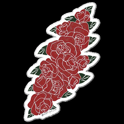Floral Bolt Sticker