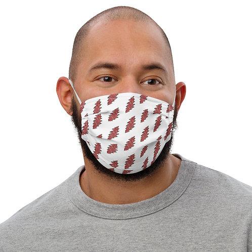 Men's Floral Bolt Face Mask