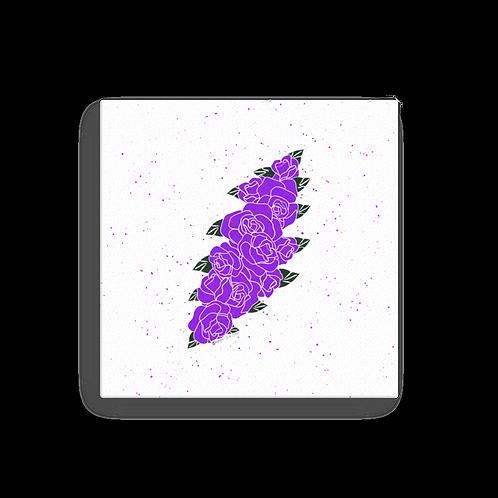 Purple Floral Bolt - Canvas