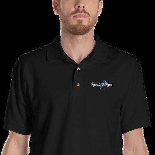 Embroidered Flat Logo Polo Shirt