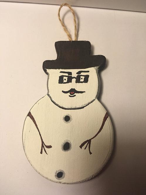 Frosty Moustache