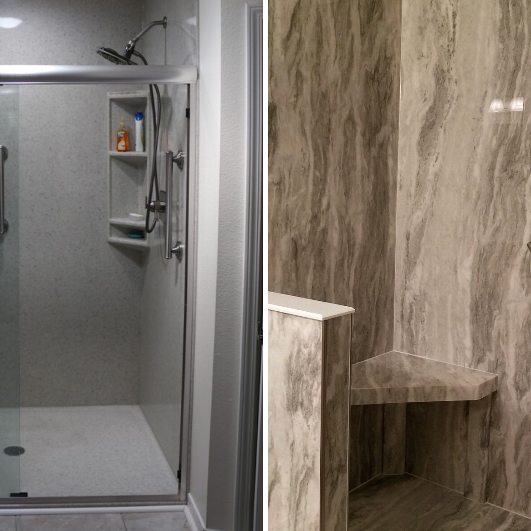 Accessible Walk-in Shower with Seats