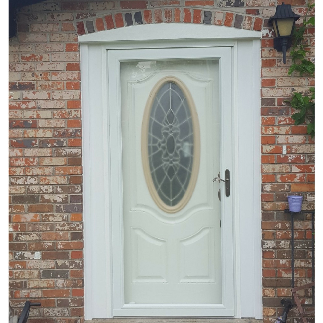 Front Entry with Storm Door
