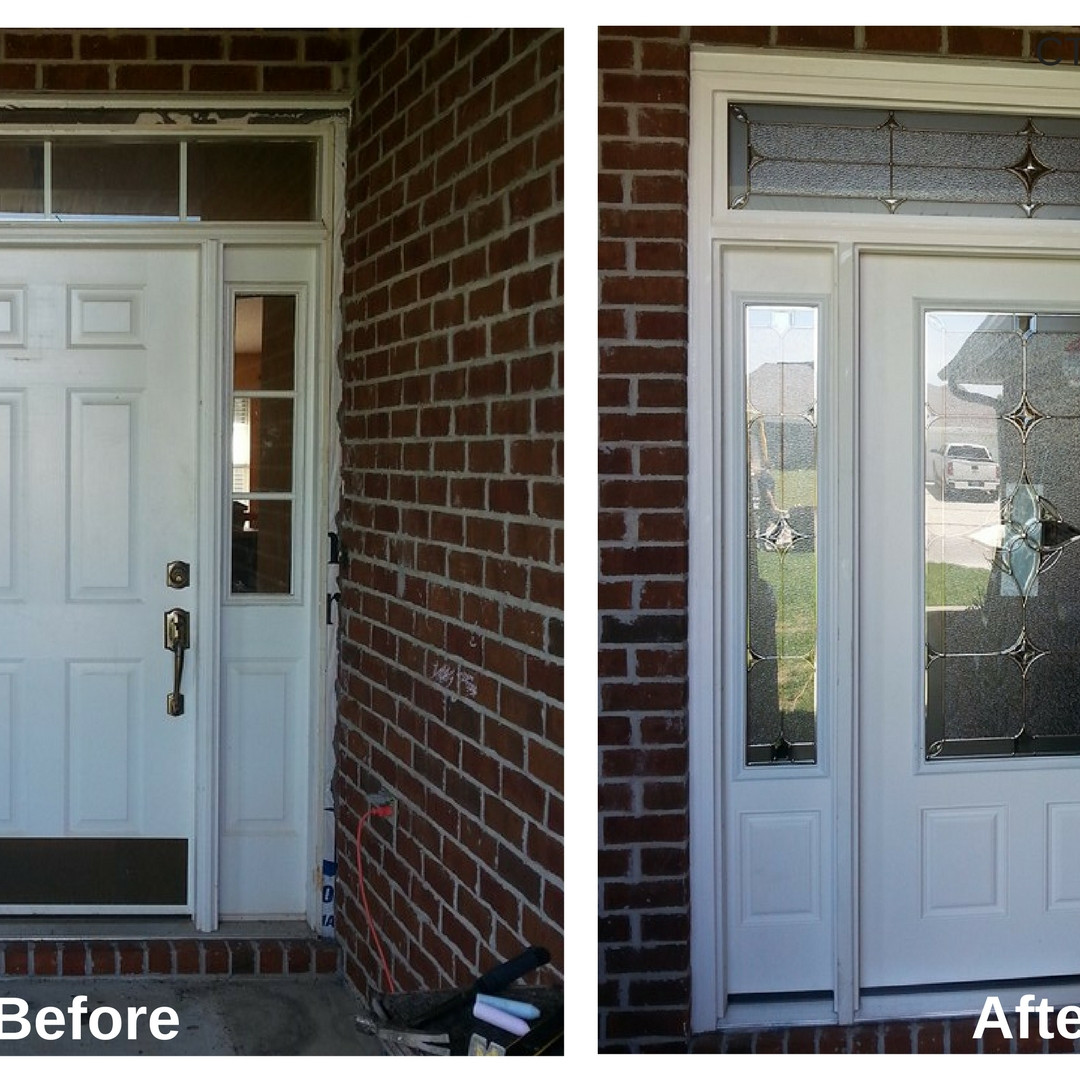 Update Front Entry with Attached Sidelites and Transom