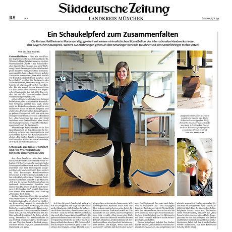 Artikel in der Süddeutschen
