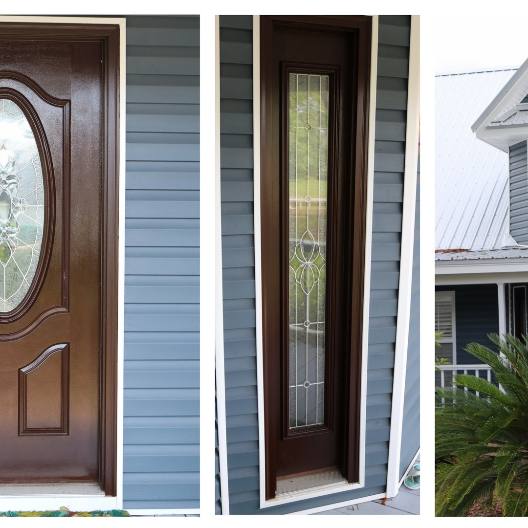 Entry Door with Stand Alone Sidelites