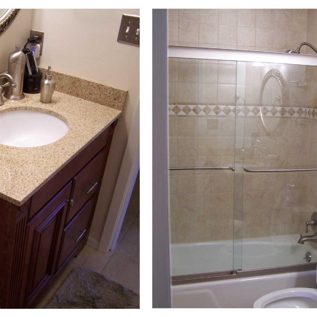 Tub/Shower Combo with Vanity