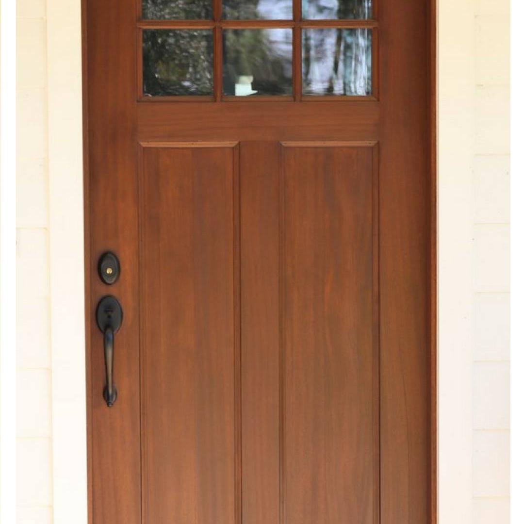 Entry Door Craftman Style