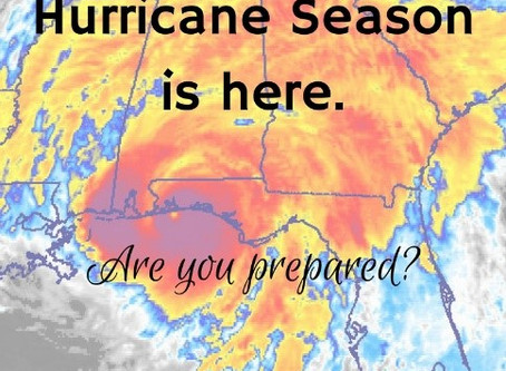 Every Year it comes, Hurricane Season.