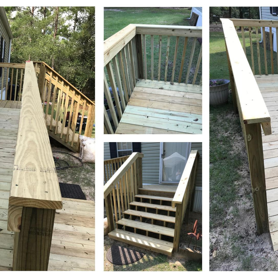 Accessible Ramp with Stairs