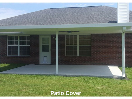 Benefits of a Patio Cover