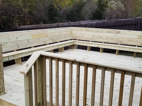 We build Decks and Deck Accessories