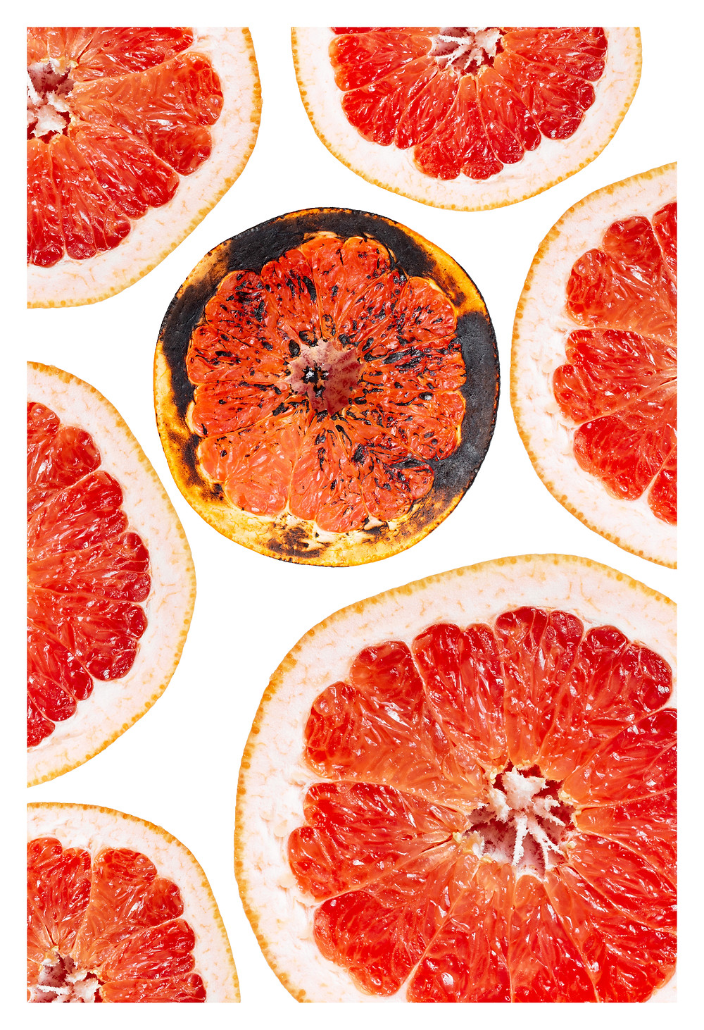 grapefruits     Prints will be ran in quantities 10 in 13x19 inches. All prints will be signed and numbered.  Made with fine art, archival exhibition-quality luster paper.  300 gsm double weight.