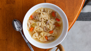My First Time Making Chicken Noodle Soup.