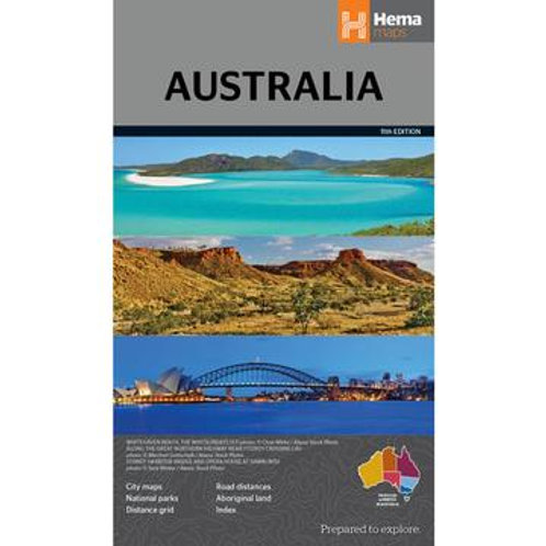 HEMA AUSTRALIA LARGE MAP