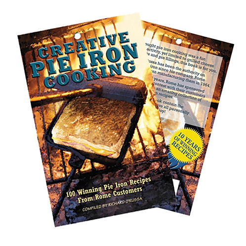 ROME CREATIVE PIE IRON COOKING BOOK