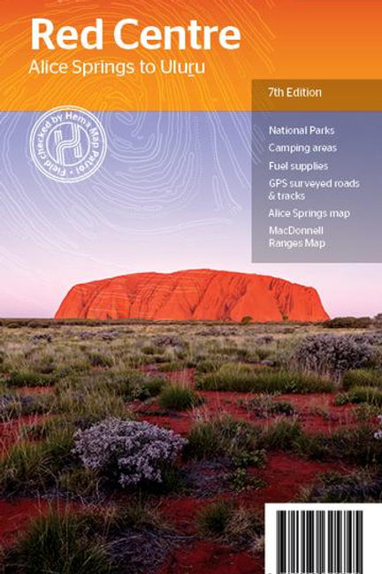 HEMA THE RED CENTRE MAP