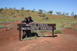 WOLFE CREEK SIGN