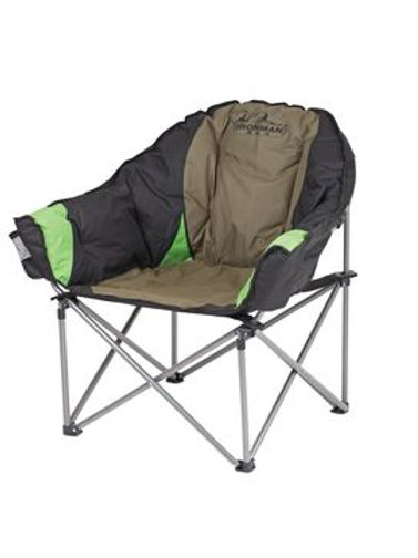 IRONMAN DELUXE LOUNGE CAMP CHAIR 150KG CAPAICITY