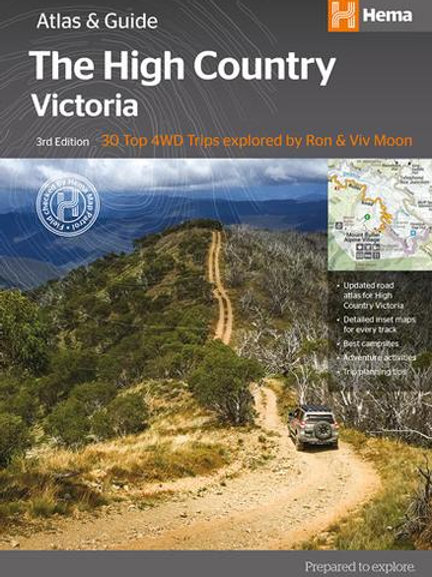 HEMA HIGH COUNTRY VICTORIA & ATLAS & GUIDE