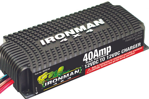 IRONMAN 40 AMP DC TO DC BATTERY CHARGER