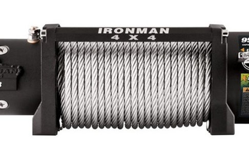 IRONMAN WINCH 9500LB STEEL