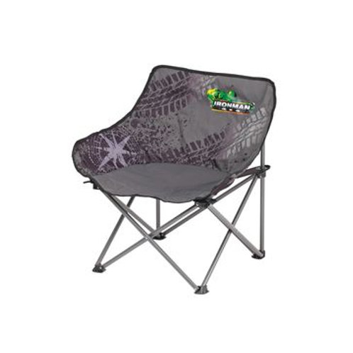 IRONMAN MID SIZED LOW BACK CAMP CHAIR 130KG CAPACITY