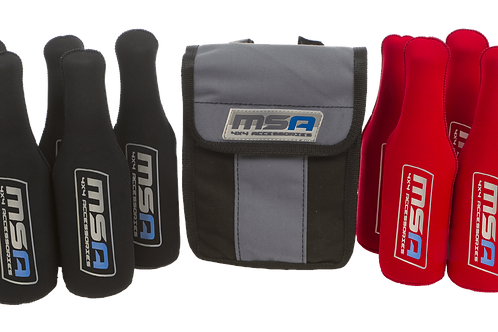 MSA STUBBIE TUBES WITH CANVAS STORAGE BAG