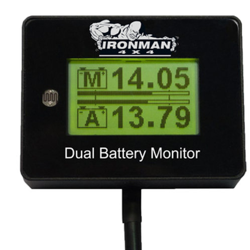 IRONMAN 12V DIGITAL BATTERY MONITOR