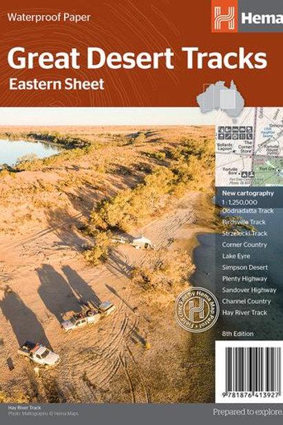 HEMA GREAT DESERT TRACKS EASTERN SHEET