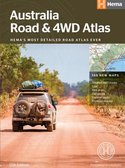 HEMA AUSTRALIA ROAD & 4WD ATLAS