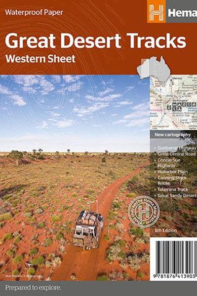 HEMA GREAT DESERT TRACKS WESTERN SHEET