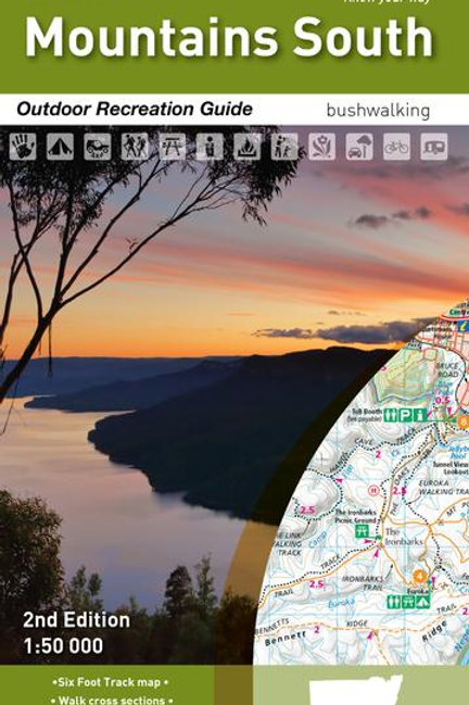 HEMA BLUE MOUNTAINS SOUTH MAP